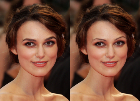 Keira Knightley. Thick or Thin? My choice: Thick