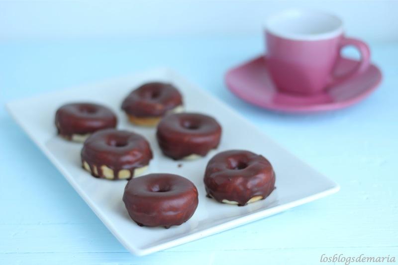 Mini Donuts de Chocolate