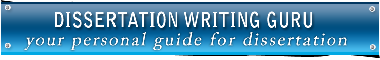 Online UK Dissertation Writing Guru