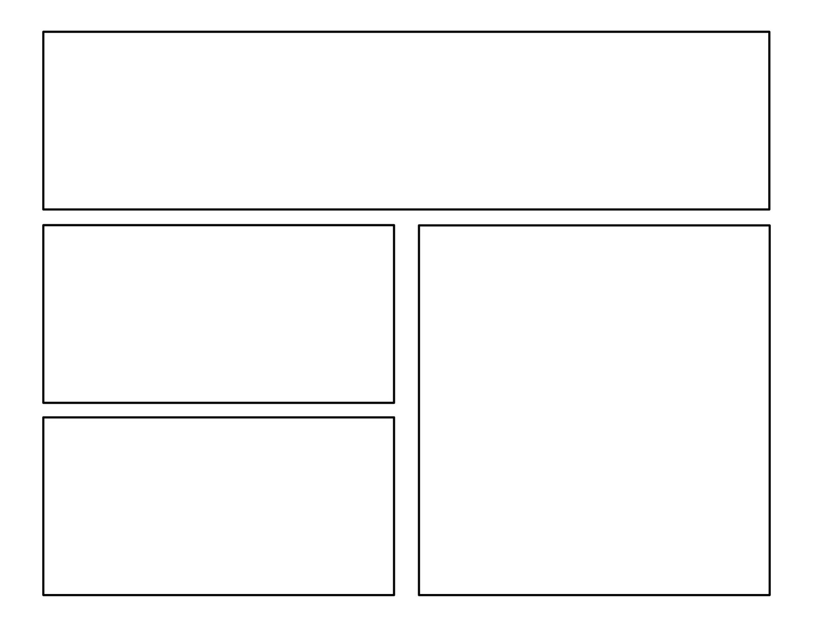 3rd grade first batch of comic templates first cousins of narrative writing to create a comic click on a template then drag it to your desktop to print and share pronofoot35fo Gallery
