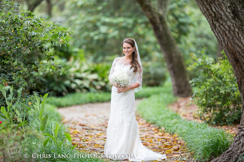 Airlie Gardens Bridal Photography