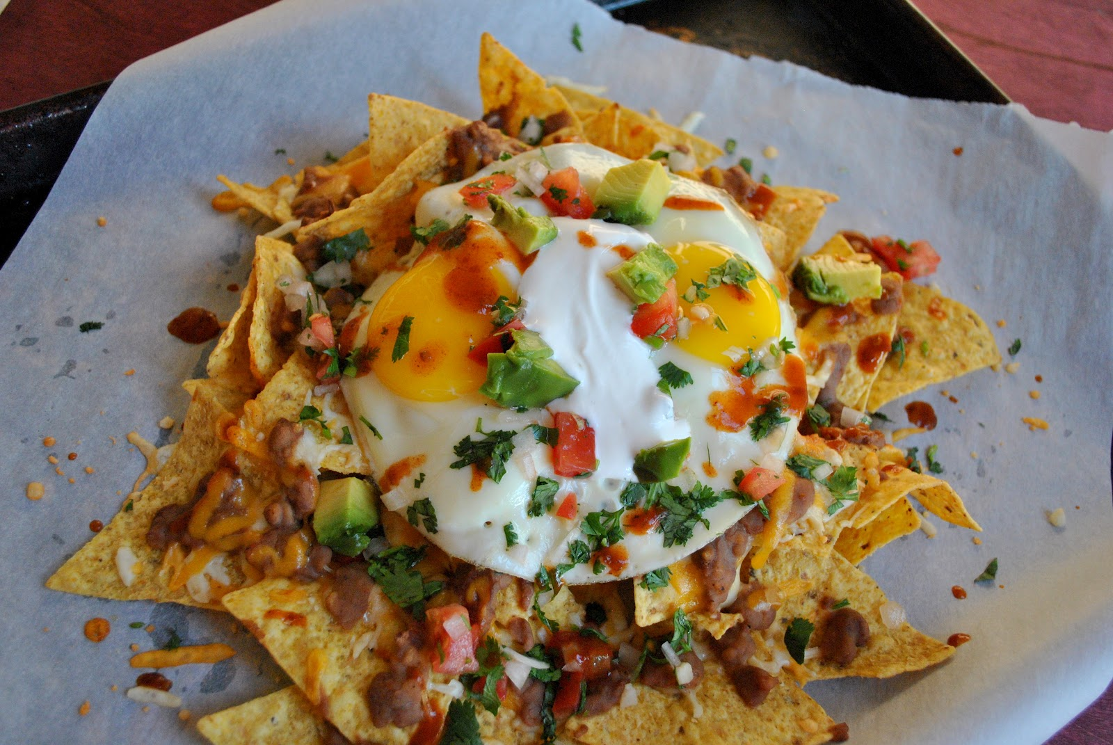 my kaotic kitchen: loaded breakfast nachos..
