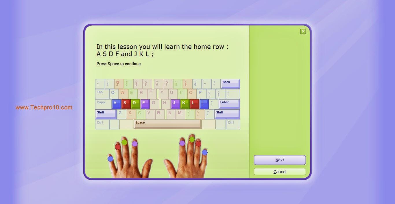 حصريا: احترف الكتابه علي لوحه المفاتيح بسرعه  بدون اخطاء وبكل سهوله  مع برنامج  Typing Master .