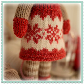 ♥ Magical Snowflake Pinafore...