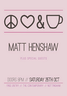 Matt Henshaw Nottingham Peace Love Tea Party
