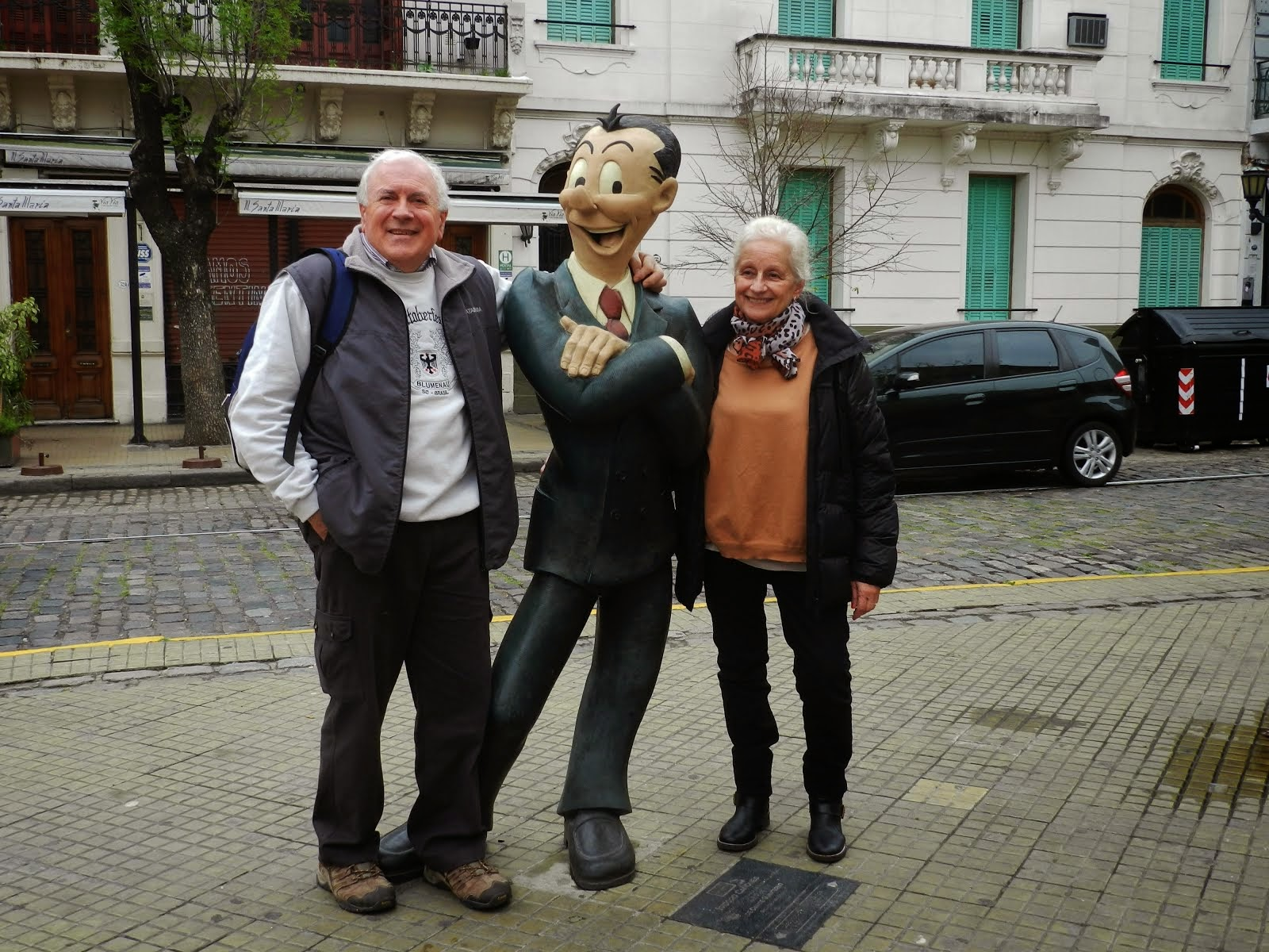 Octubre 2014 en San Telmo (Bs As)