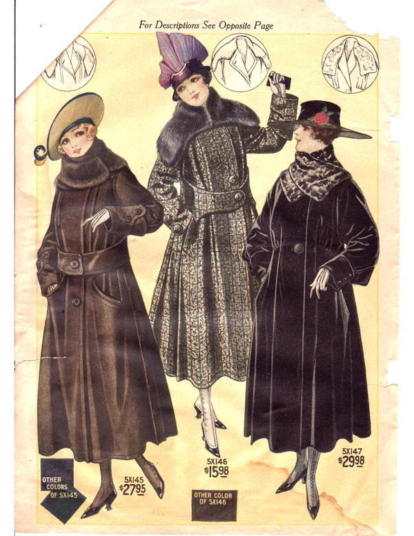 Bellas Hess 1917 1918 Catalog