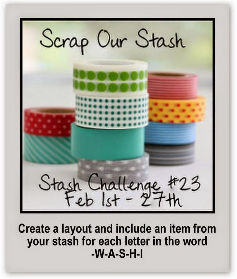 Scrap Our Stash February Stash Challenge 23