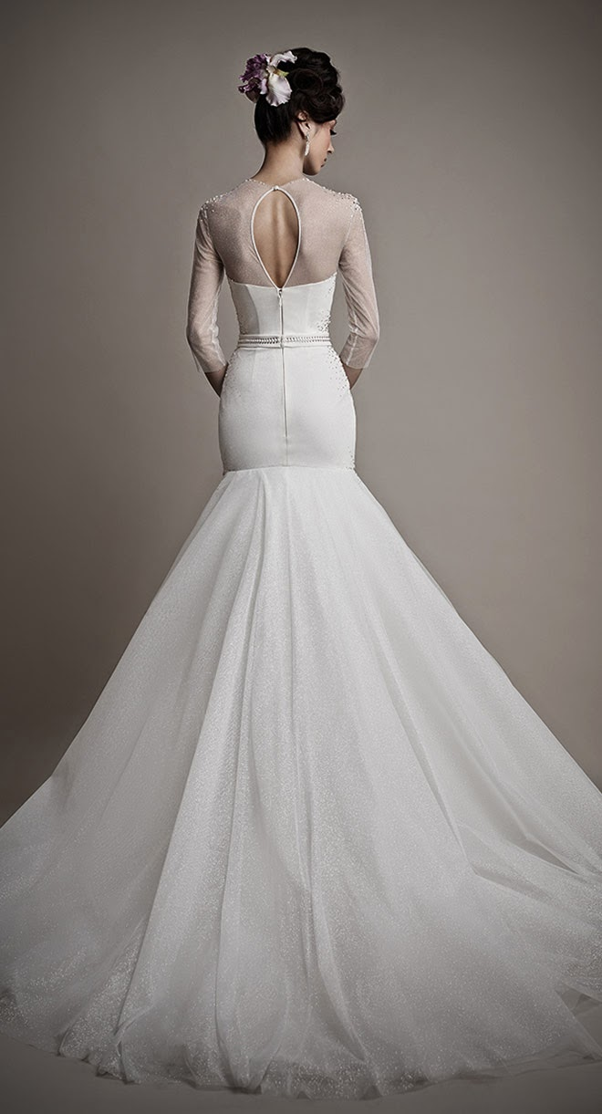 Ersa Atelier 2015 Bridal Collection Belle The Magazine