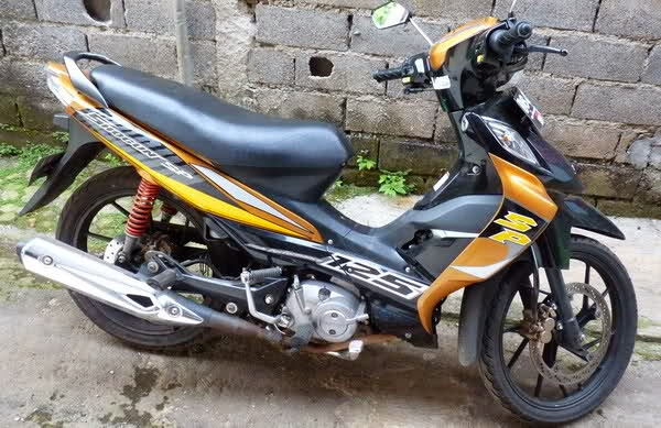 modifikasi suzuki shogun sp 2009