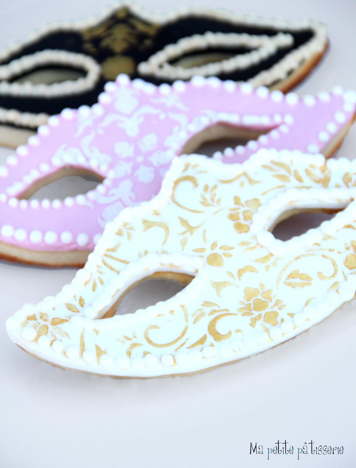 Ma petite patisserie galletas de carnaval m scaras - Mascaras venecianas decoracion ...