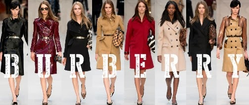 A Burberry Inspired 'Winter Coat Guide'