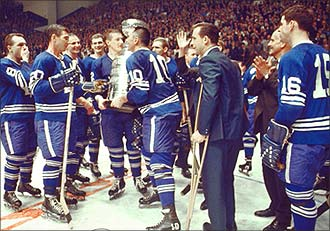 Maple Leafs 1962 win
