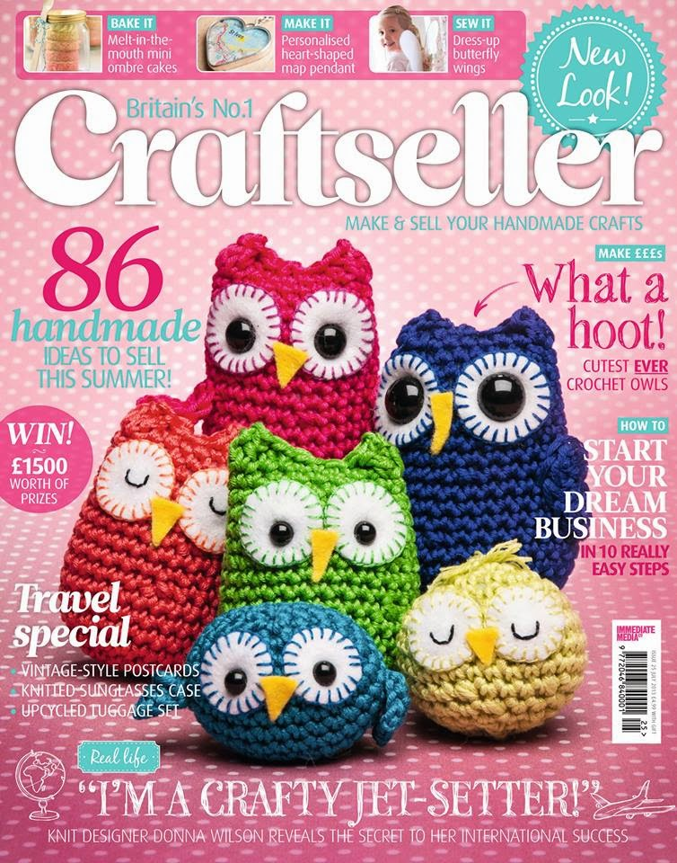 Craftseller rainbow owl family