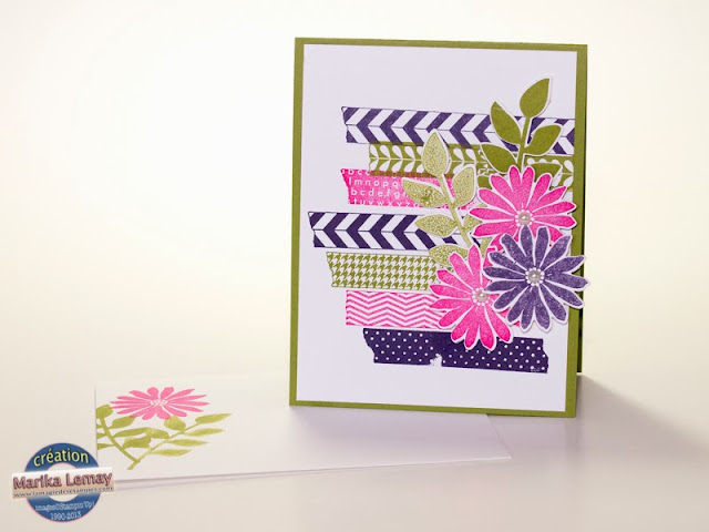 tape it et lot herbier Stampin' Up!