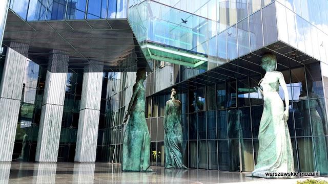 Sąd Najwyższy rzeźby wiara nadzieja miłość Warszawa