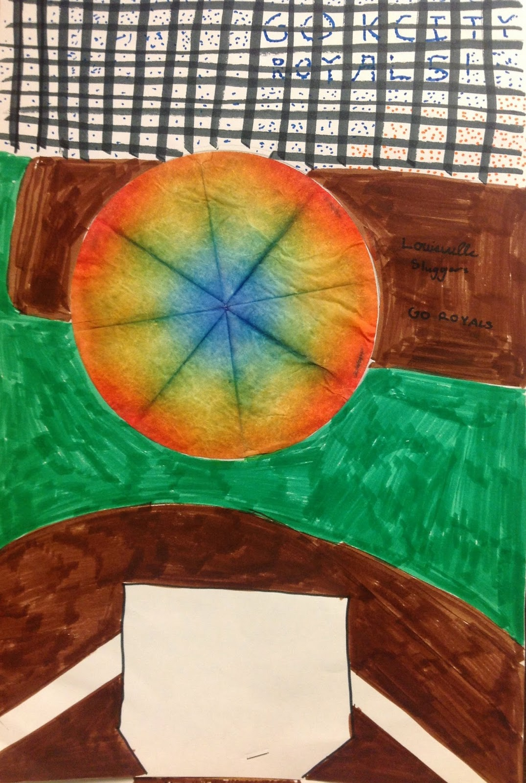 5th Grade Easy Imagination Art Lesson with Coffee Filters