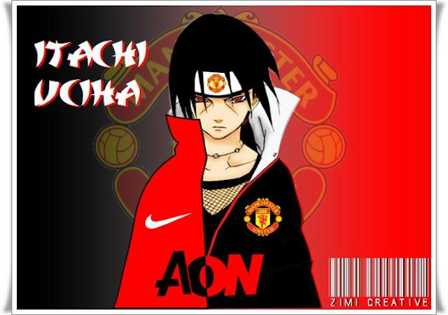 Manchester United Versi Anime Wallpaper