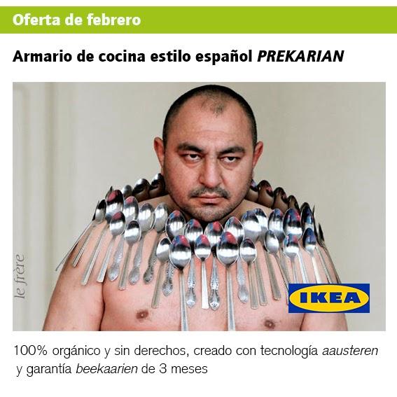 """""""IKEA"""",""""paro"""",""""INEM"""",""""trabajo"""",""""recortes"""",""""sociales"""",""""precariedad"""""""