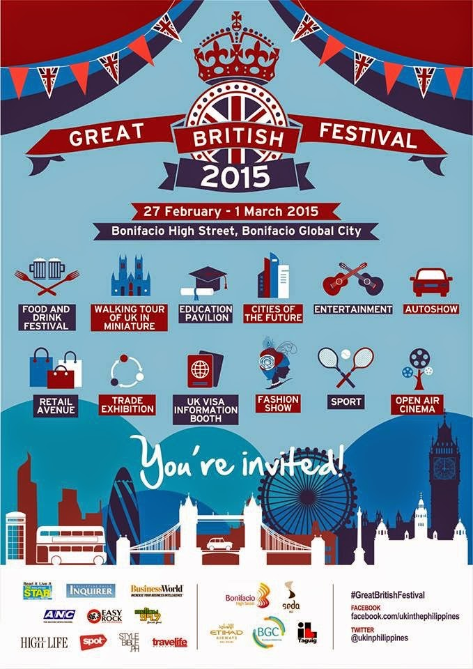 THE GREAT BRITISH FESTIVAL 2015