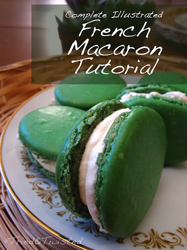 Complete Illustrated French Macaron Tutorial | Tried & Twisted