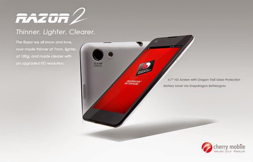 cherry mobile razor 2.0