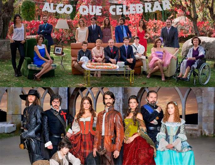 Duelo de series, Antena 3, Telecinco