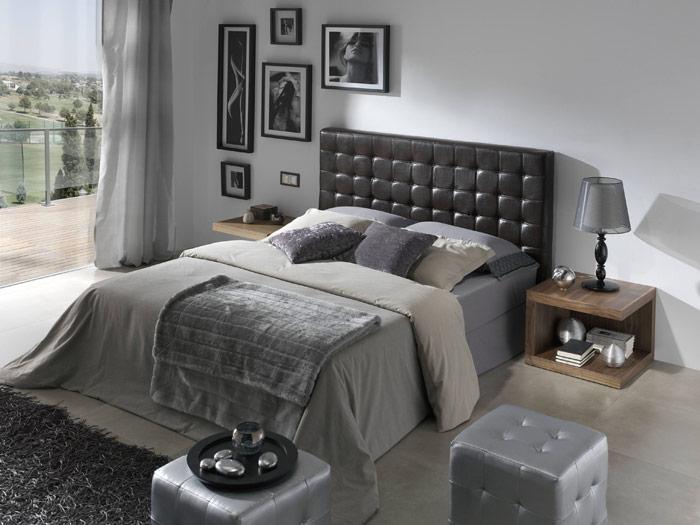homedecorationideas: CABECEROS DE PIEL