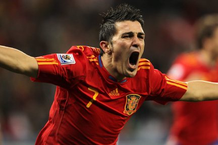 david villa youtube