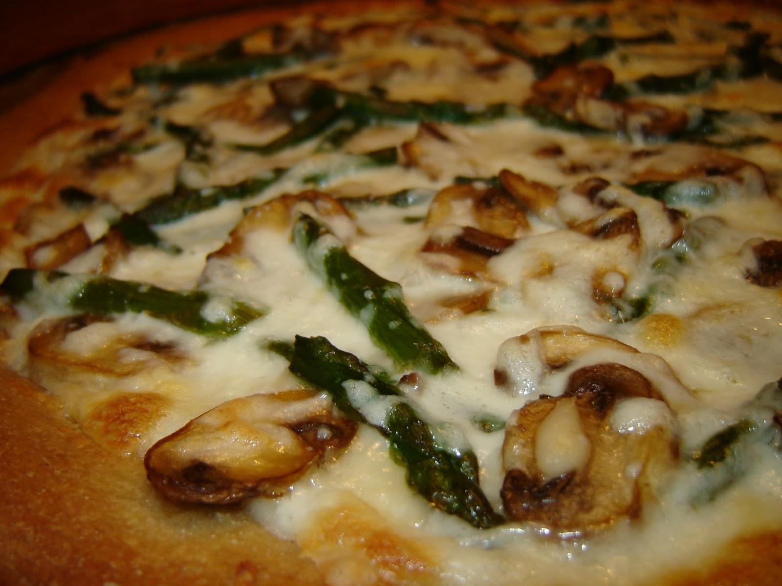 Mushroom Pizza Slice 8 oz. fresh mushrooms, sliced