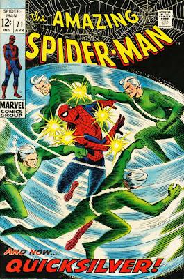 Amazing Spider-Man #71, Quicksilver