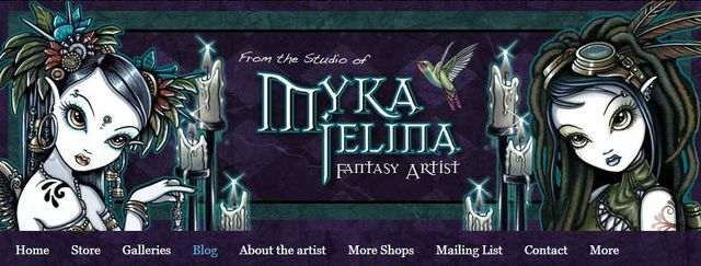 Gothic Jewelry from Myka Jelina