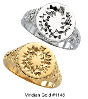 Gold Crown of Thorns Rings