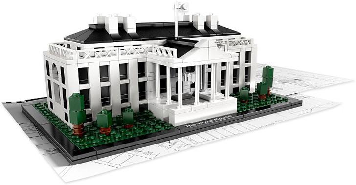 Lego architecture studio hacer casas y edificios con - Planos de la casa blanca ...