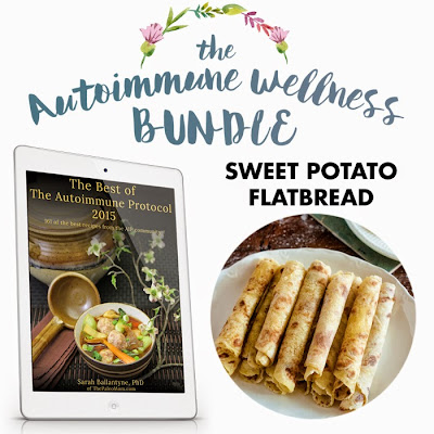 The Autoimmune Wellness Bundle: Sweet Potato Flat Bread