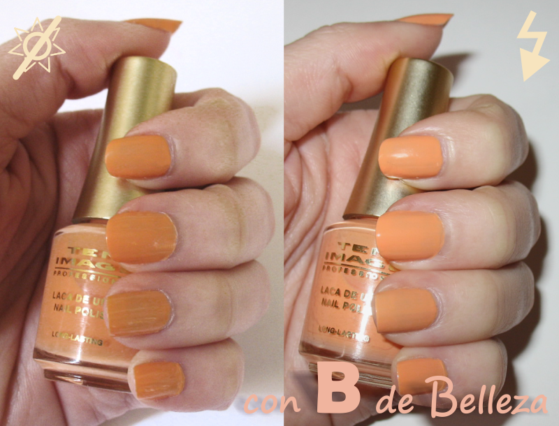 Swatch Mai tai nail polish