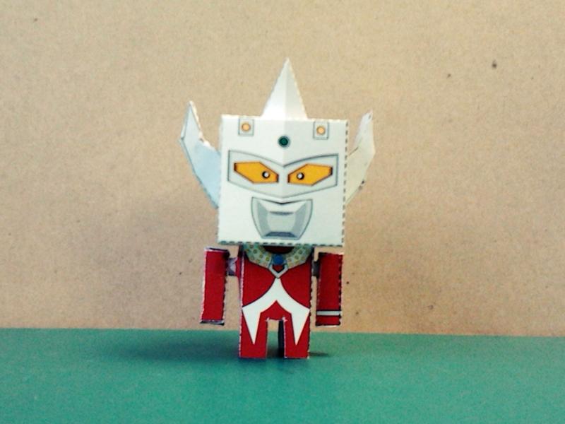 Ultraman Taro Paper Toy