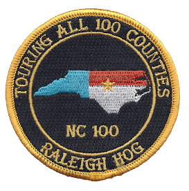 NC 100 Counties Patch