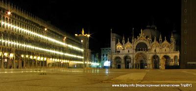 Ночь на площади Святого Марка by TripBY