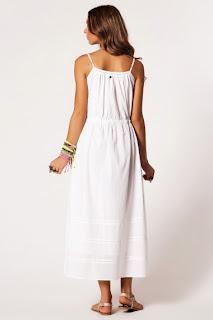 beyaz elbise modeli