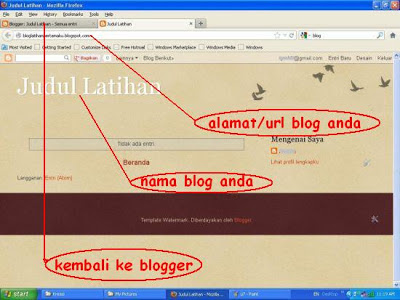 preview halaman blog