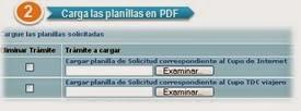 Carga de Planillas Divisas, Planillas, Planillas PDF