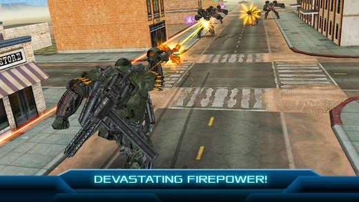 screenshot 4 TRANSFORMERS: AGE OF EXTINCTION - The Official Game v1.1.1