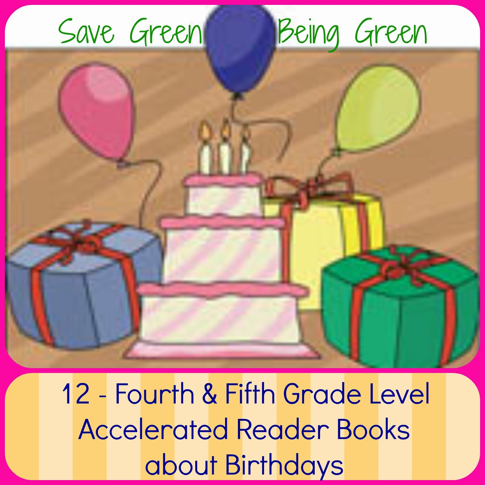 Save Green Being Green 12 4th 5th Grade Level Ar Books About