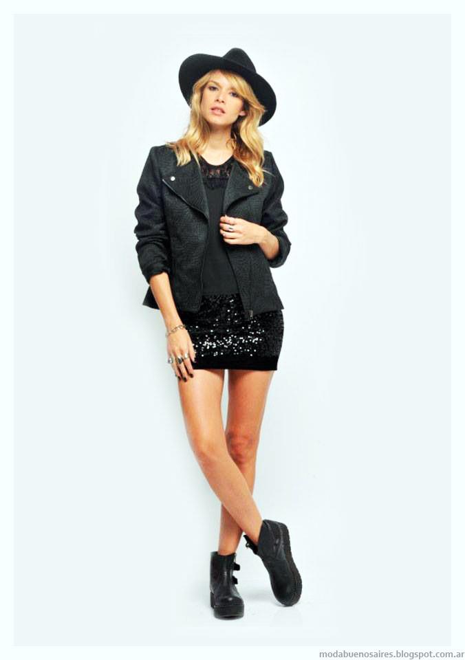 Camperas invierno 2015 moda ropa de mujer Zhoue.