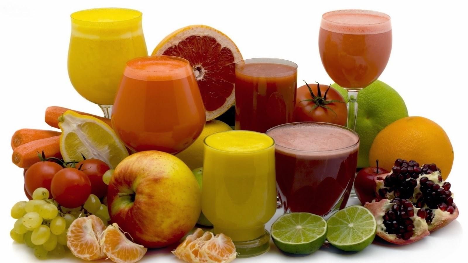 jus buah dan sayuran