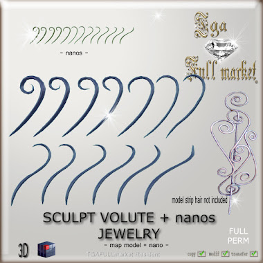 SCULPT VOLUTE + nanos JEWELRY