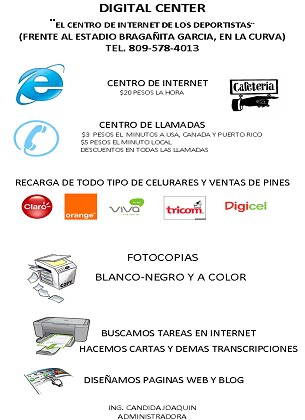Digital Center en Moca R.D.