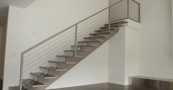 Decoracion mueble sofa como hacer una baranda para escalera for Como hacer una escalera de hierro para interior