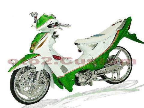 Foto Modifikasi MotorSupra X 2013